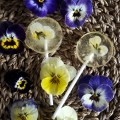 Floral Lollipops
