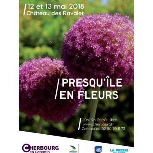CHERBOURG, Presqu'île en fleurs