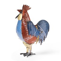 Recycled Metal Cockerel